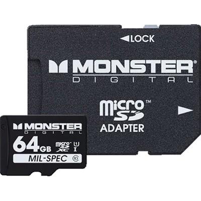 64GB SDHC Micro SD Memory Card Class 10