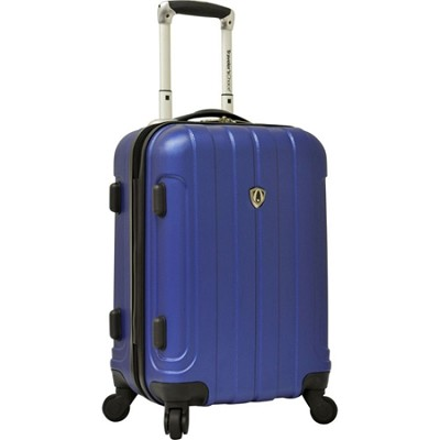 Traveler?s Choice Cambridge 20` Hardsided Carry-On Spinner, Blue