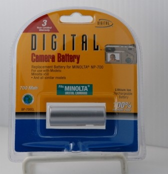 NP-700 Battery for Dimage X50 (700mAh)