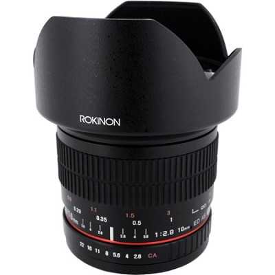 10mm F2.8 Ultra Wide Angle Lens for Nikon AE Mount