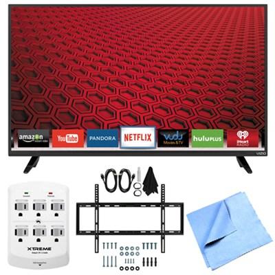 E40-C2 - E-Series 40-Inch 120Hz 1080p Smart LED HDTV Plus Mount & Hook-Up Bundle