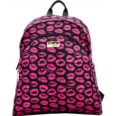 Bubble Quilted Cotton Compact Backpack