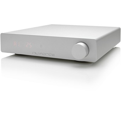 DDA120 Powerful Integrated Digital Amp with Bluetooth Receiver (Silver)