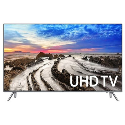 UN55MU8000 55-Inch 4K Ultra HD Smart LED TV (2017 Model) - OPEN BOX
