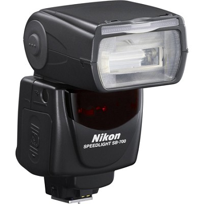 SB-700 AF Speedlight Flash for Nikon Digital SLR Cameras - 4808 - OPEN BOX