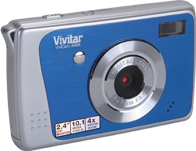 ViviCam X025 10.1 MP HD Digital Camera (Blue)