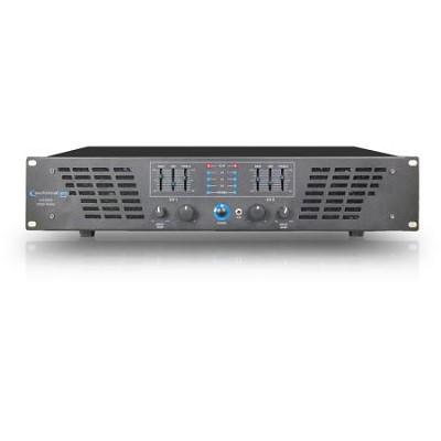 2U Professional 2CH Power Amplifier 3000 watts peak power