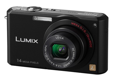 DMC-FX150K - Premium Compact 14.7 Megapixel Digital Camera (Black)
