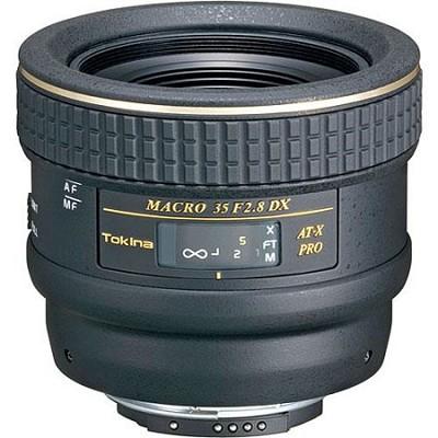 35mm f2.8 Macro AT-X Pro DX for Nikon Digital SLR