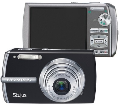 STYLUS 1200 Digital Camera (Black)