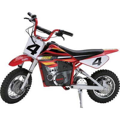 MX500 Dirt Rocket Electric Motocross Bike 14 and older (175-pound weight limit)