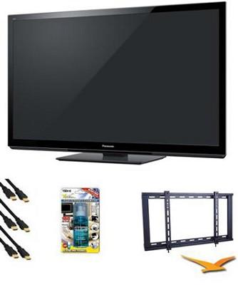 TC-P55GT30 55 inch VIERA 3D FULL HD (1080p) Plasma TV Value Bundle
