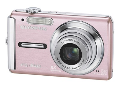 FE-340 8MP Digital Camera (Pink)