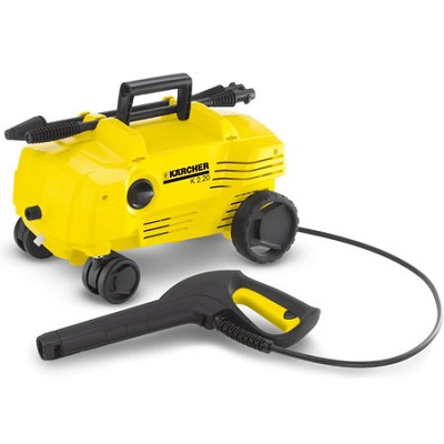 K 2.20 1500PSI Electric Pressure Washer With 15-Foot Hose