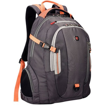Swiss Army Commute Deluxe Laptop Backpack for Notebooks up to 16` Orange
