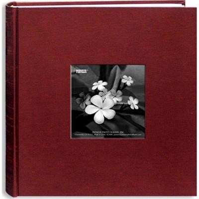 DA-200SKF Silk Fabric Cover w/ Frame 200 4x6` Photo Memo Album (Cranberry)