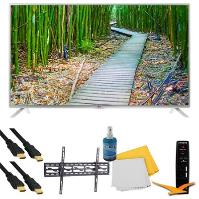 47` 1080p 60Hz Direct LED Smart HDTV Plus Tilt Mount & Hook-Up Bundle (47LB5800)