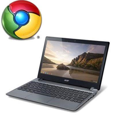 C740-C3P1 Intel Celeron 3205U 11.6 LED Chromebook (OPEN BOX)