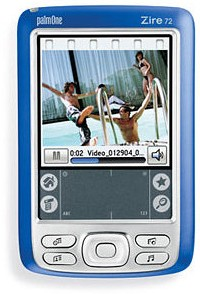 Zire 72 Handheld W/ 1.2MP Camera, MP3 Player and BlueTooth