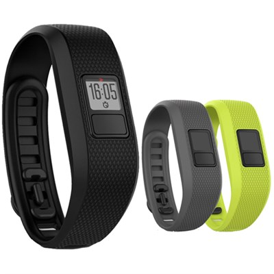 vivofit 3 Activity Tracker - Regular Fit - Black with 3 Accessory Bands