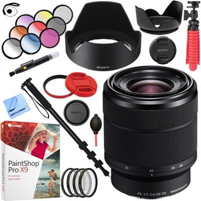 SEL2870 FE 28-70mm F3.5-5.6 OSS Full Frame E-Mount Lens with 55mm Filters Kit