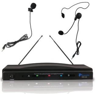 WM-240 Professional VHF Wireless Microphone System