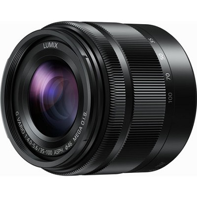 LUMIX G H-FS35100K VARIO Ultra Compact Zoom 35-100mm / F4.0-5.6 Lens