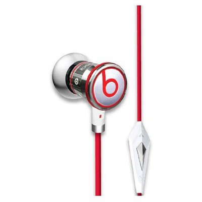 iBeats In-Ear Headphones with ControlTalk (Chrome) 129590 - OPEN BOX