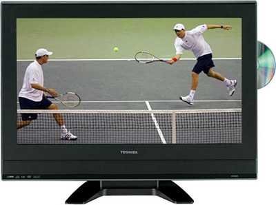 23HLV87 - 23` High-definition LCD TV w/ built-in DVD Player  **OPEN BOX**