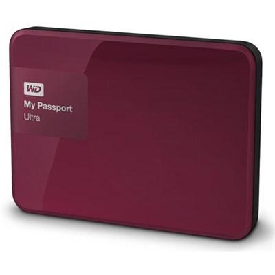 My Passport Ultra 2TB Portable External Hard Drive USB 3.0 Berry  - OPEN BOX