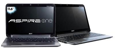 Aspire one 11.6` Netbook PC - Black (AO751H-1893)