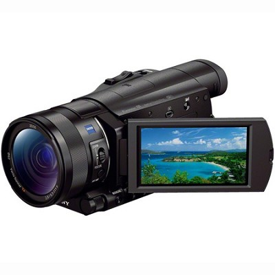 FDR-AX100/B 4K Camcorder with 1-inch Sensor - OPEN BOX