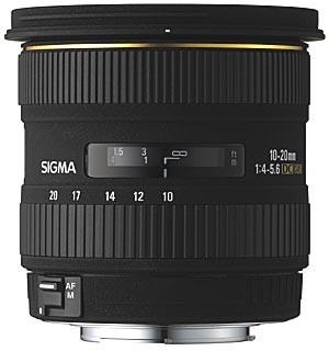 Super Wide Angle Zoom 10-20mm f/4-5.6 EX DC HSM AF Lens for Olympus Zuiko