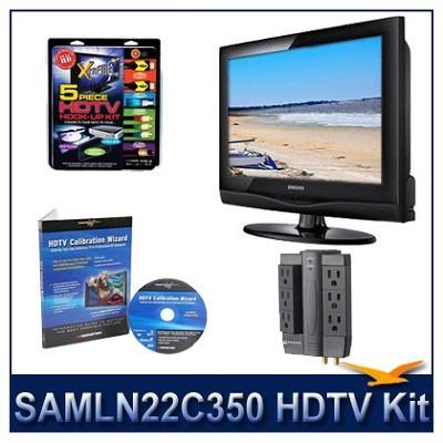 LN22C350 - HDTV + High-performance Hook-up Kit + Power Protection + Calibration