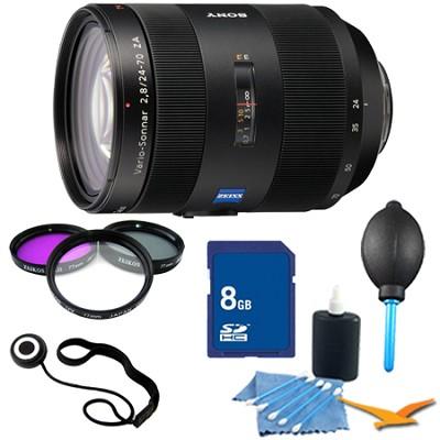 SAL2470Z - Vario-Sonnar T 24-70mm f2.8 Zoom Lens for Alpha DSLR's Essentials Kit