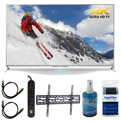 XBR-55X800B 55-inch 4K Ultra HD Smart LED TV Motionflow XR 240 Tilt Mount Bundle