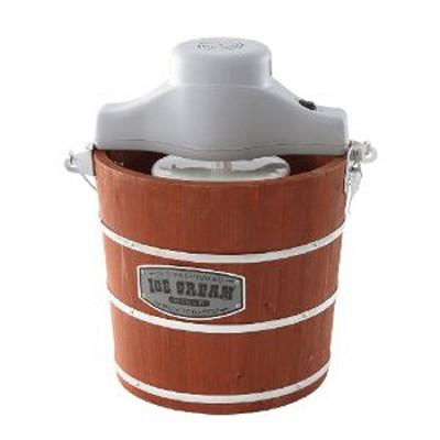 4-Quart Wooden Ice-Cream Maker
