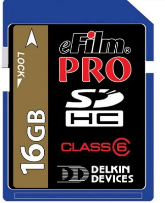 16GB Pro 150X High-Speed SDHC memory card