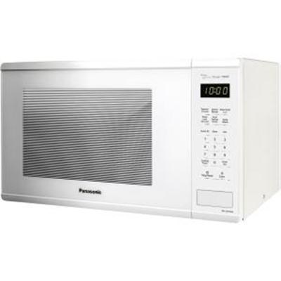 1.3 Cu. Ft. 1100W Countertop Microwave Oven in White - NN-SU656W