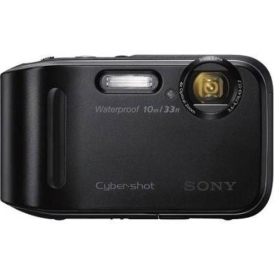 Cyber-shot DSC-TF1 16 MP 2.7-Inch LCD Waterproof Digital Camera - Black OPEN BOX