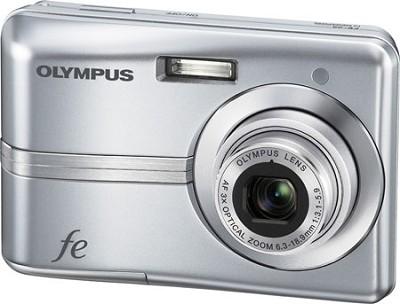 FE-25 10MP 2.4` LCD Digital Camera (Silver)