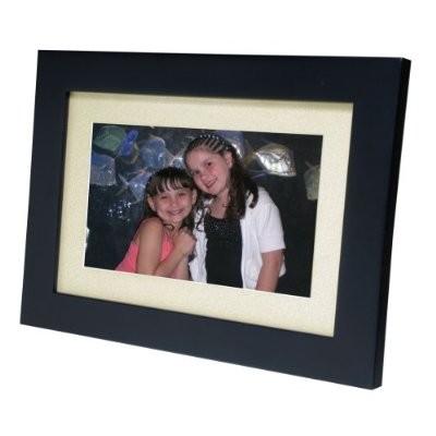 SP92 8.5-inch Digital Picture Frame- Ebony Beige Matting, 128MB Internal Memory