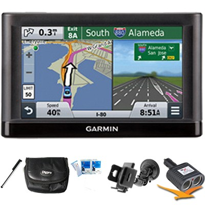 nuvi 56 Essential Series GPS Navigator 5` Display Plus Ultimate Bundle
