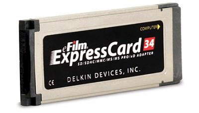 ExpressCard 34 6-in-1 card adapter