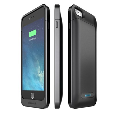 Elite Battery Case for iPhone 6 Plus and 6s Plus, Black
