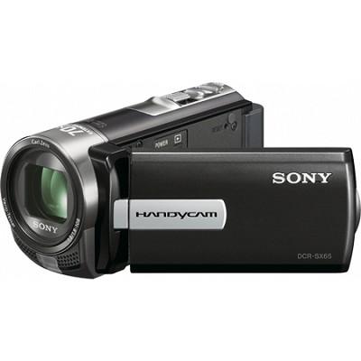 DCR-SX65 Handycam Compact Black 4GB Camcorder w/ 60x Optical Zoom