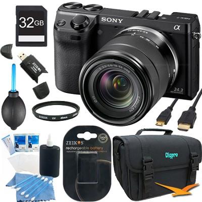 NEX7K/B - NEX-7 24.3 MP Black Camera with 18-55mm lens 32GB Bundle