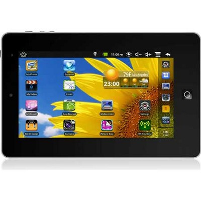 7` Multi-Touch Screen Android 2.2 4GB eGlide 2 Tablet with Dual Core Processor