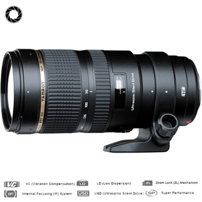 SP 70-200mm F/2.8 DI VC USD Telephoto Zoom Lens For Nikon-Certified Refurbished