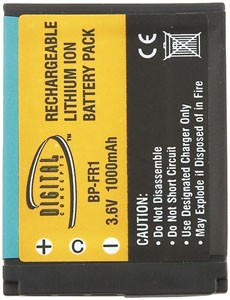 NP-FR1 1000mAh Battery for Cybershot DSC-P100/P150/P200 Digital Camera